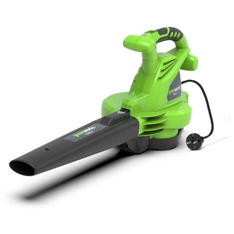 soplador eléctrico GREENWORKS 2800W - GBV2800