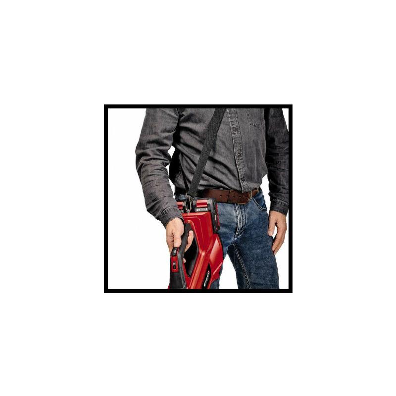 Negro Rojo Einhell 3433620 Soplador de Hojas a bater/ía