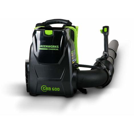 Soplador mochila a batería Greenworks 82 V GC82BPB (Sin batería ni cargador)