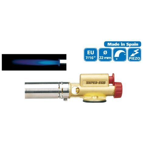 SOPLETE GAS EASY FIRE 22mm.SUPER-EGO