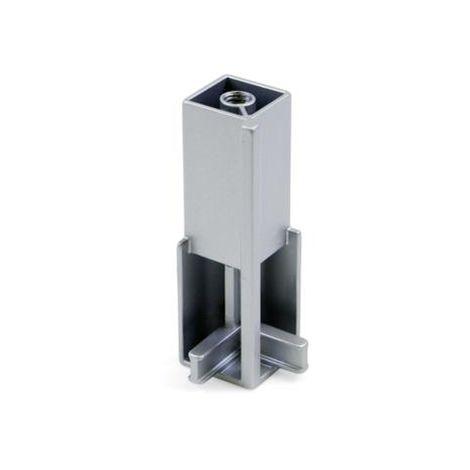 Soporte angular para barra armario luxe - talla