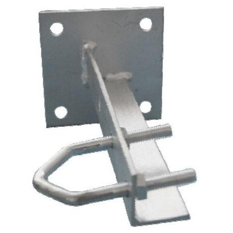 Soporte antena 20cm pared electro dh met gr forma u 60.269/2