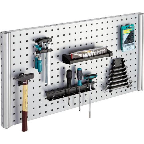 soporte atornillador manual para panel porta herramientas - Wolfcraft - 6801000