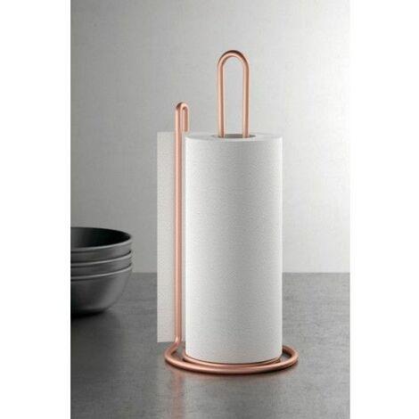 Soporte Cocina Portarrollos 15X32Cm In. My Roll Copper Metaltex