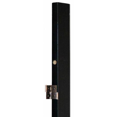 Soporte de pared para biombo Negro, 175 x 2.5 x 5 cm