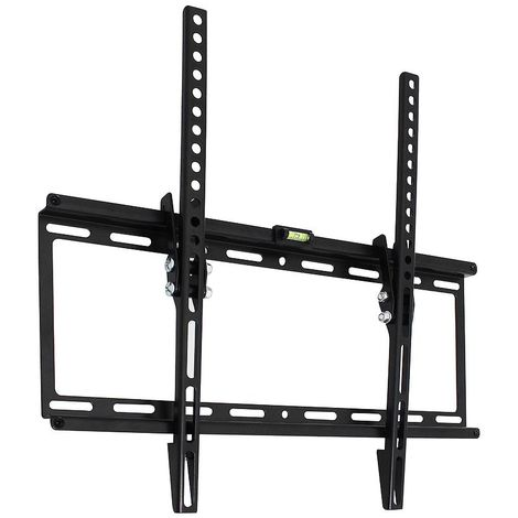 Soporte De Pared Para Tv Soporte De Pared Ajustable Negro Para