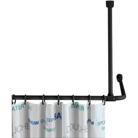 Soporte de techo para barras de ducha
