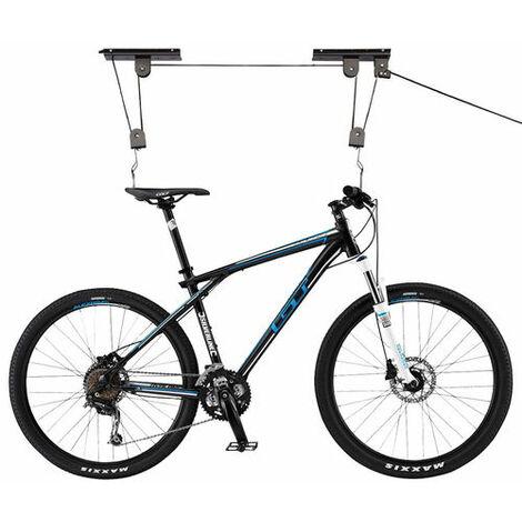 soporte de techo para bicicleta 20kg!! elevador/bici/colgador/gancho/poleas