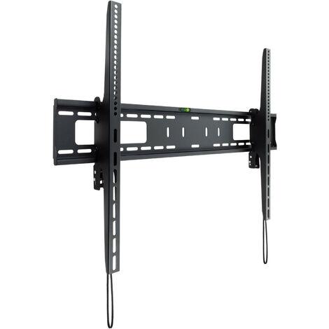 Soporte de Tv de Pared Fijo inclinable maximo 75kg Vesa 900-600 hasta 100 pulgadas Color Negro Lp42100t-b