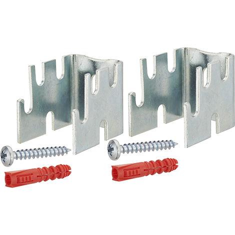 soporte del radiador acero separador de pared 12-22-34-42 mm