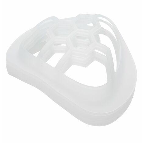 Soporte interno del amortiguador de la mascara 5pcs 3D, tenedor de las mascaras del silicon de la categoria alimenticia