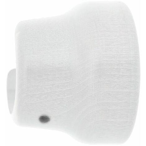 soporte madera liso lateral 20x 35 mm. blanco