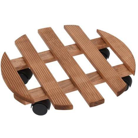 Soporte madera macetas ø 35 cm - talla