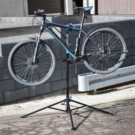 Soporte para bicicletas reparación taller hasta 50kg caballete altura ajustable