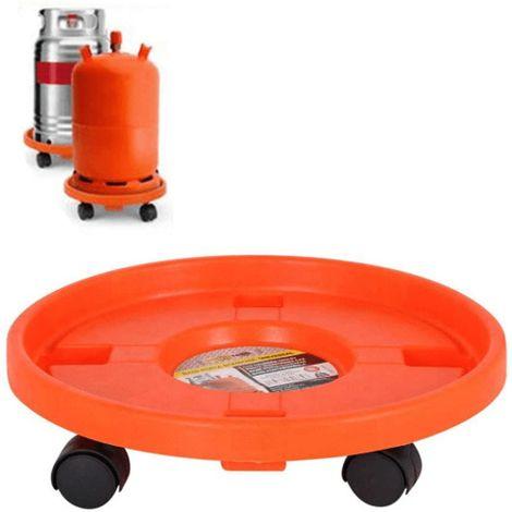 Soporte para bombona butano 33.5 cm Naranja