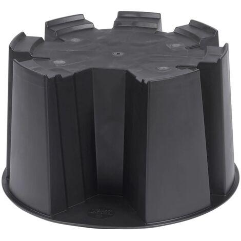 Soporte para depósito contenedor de agua Nature 6070414 - Negro