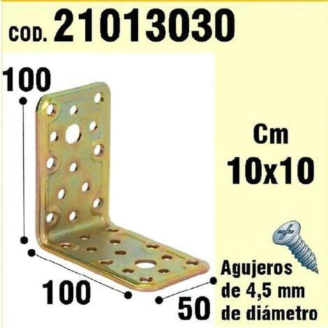 Soporte para madera ángulo 50x 100x 100 mm.