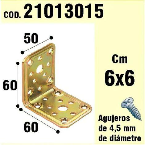 Soporte para madera ángulo 50x 60x 60 mm.