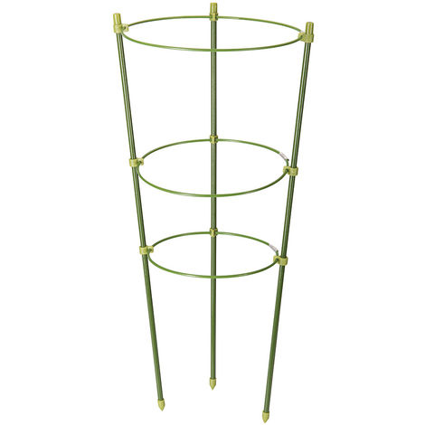 Soporte para plantas con 3 anillos 450 mm - NEOFERR..