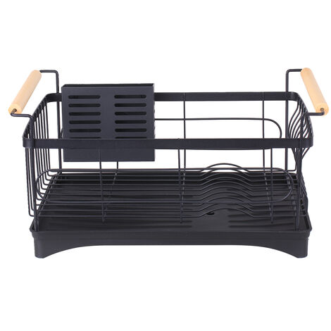 Soporte para tazon de rack de platos, estante de secado de fregadero de cocina