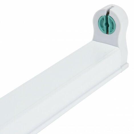 Soporte para tubo LED 1200 mm (Conexión 1 Lateral) | IluminaShop
