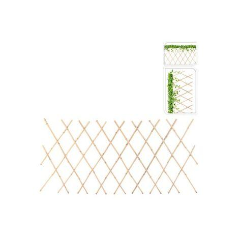 Soporte plantas bambu 45x180 cm