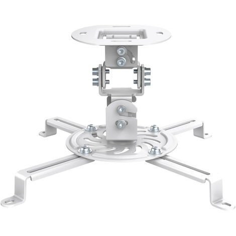 Soporte Proyector Techo De 15cm BLANCO