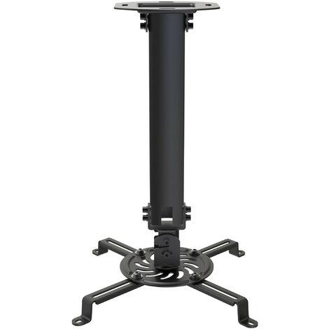 Soporte Proyector Techo De 38 A 58cm NEGRO