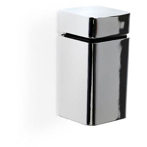 Soporte regulable para baldas de cristal y madera con estilo decorativo