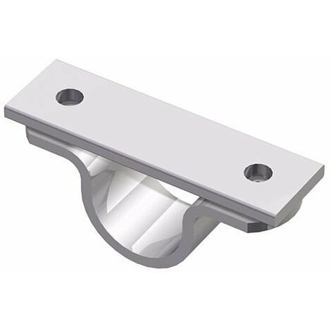 Soporte techo para tubo redondo Diámetro 33,7mm Cepro Sistema de Tubos