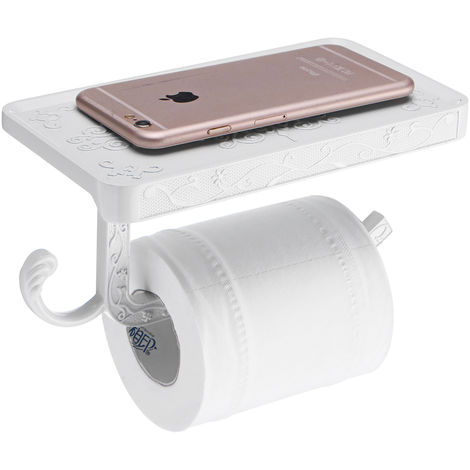 Soportes de papel Soportes para teléfonos móviles Papel de baño de aleación de zinc tallado Sasicare