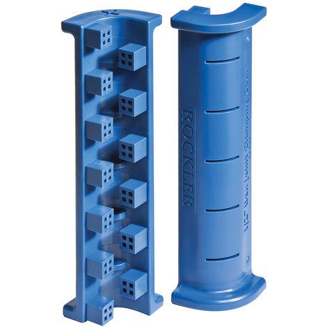 """Soportes para sujetar juntas de caja y espiga, 4 pzas 12,7mm (1/2"""") - NEOFERR"""