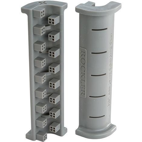 """Soportes para sujetar juntas de caja y espiga, 4 pzas 9,5 mm (3/8"""") - NEOFERR"""
