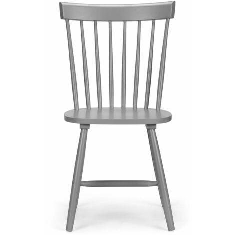 Soprano Grey Chair Scandinavian Design