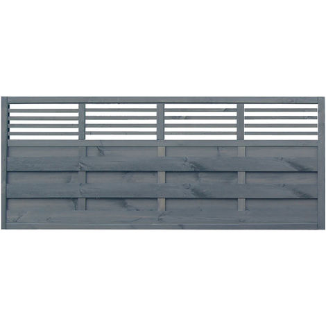Sorrento Slat Top Treated Fence Panel