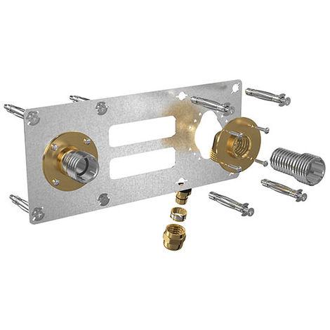 Sortie cloison ROBIFIX à visser F1/2- 150mm - double