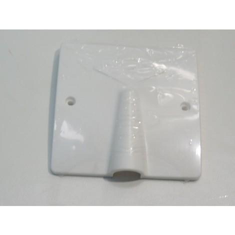 Sortie de cable 20/32A blanche 100X100mm à encastrer dans boite d'encastrement Ø 86mm (non fournie) fixation vis SIB ADR P11032