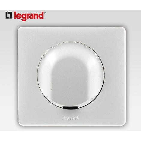 """main image of """"Sortie de cable Legrand celiane blanc complet avec support"""""""