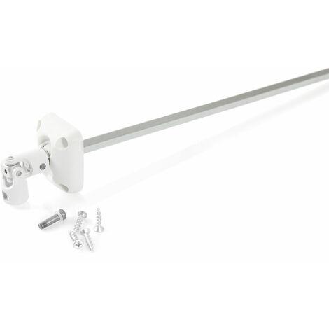 Sortie de caisson 45° pour manivelle Ø 12mm
