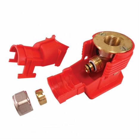 Sortie de cloison à compression pour tube Multicouche - plusieurs modèles disponibles
