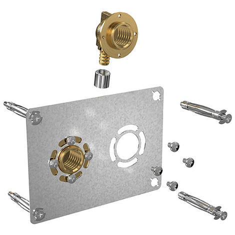 Sortie de cloison, ROBIFIX, double, entraxe 50 mm Watts Industries