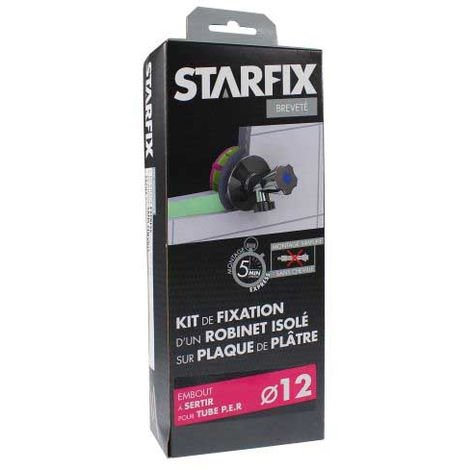 """Sortie de cloison STARFIX PER Ø12 Raccord à Sertir - Femelle 1/2"""" (15/21) pour robinet"""