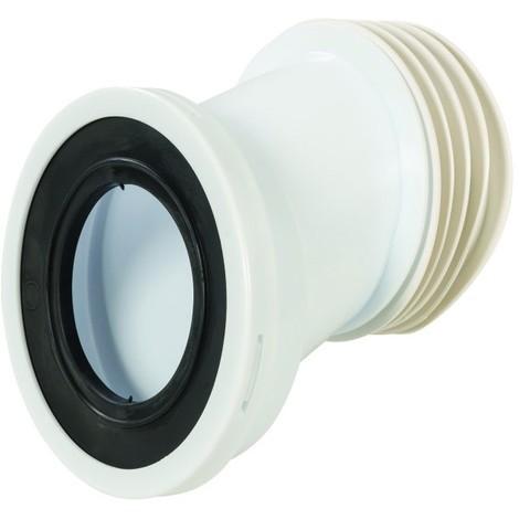 Sortie de cuvette WC excentrée 110 mm - Excent. 40 mm