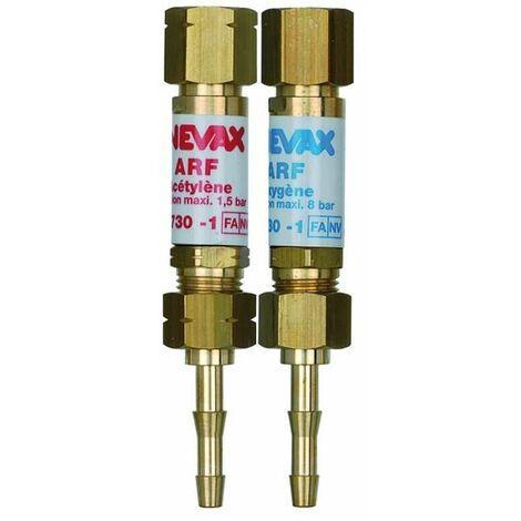 Sortie de manodétendeur ARF oxygène et acétylène