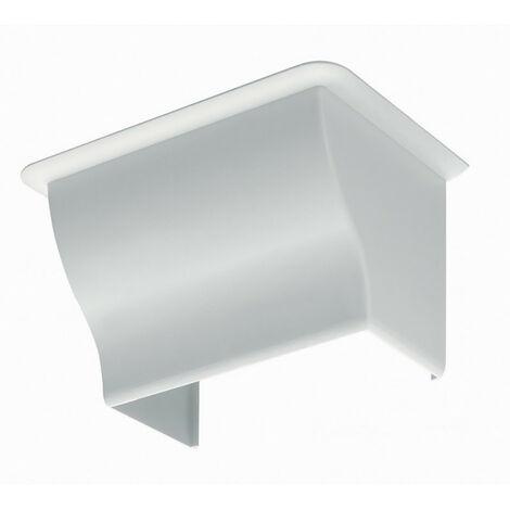 Sortie de plafond pour goulotte de distribution Viadis 120x60mm blanc Artic (16507)