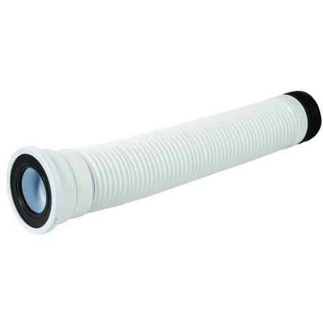 Sortie de WC droite flexible 240 - 450 mm