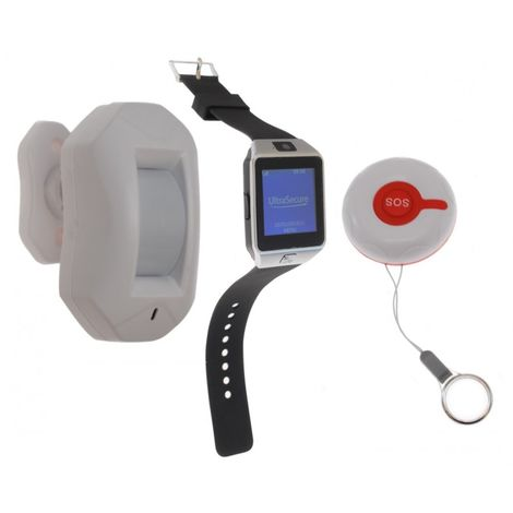 SOS Alert Watch Pager & PIR System 8 [009-3175]