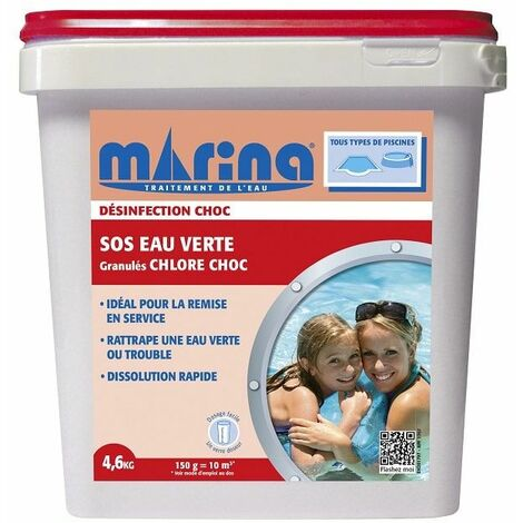 SOS EAU VERTE granulés - 4,6 kg Marina