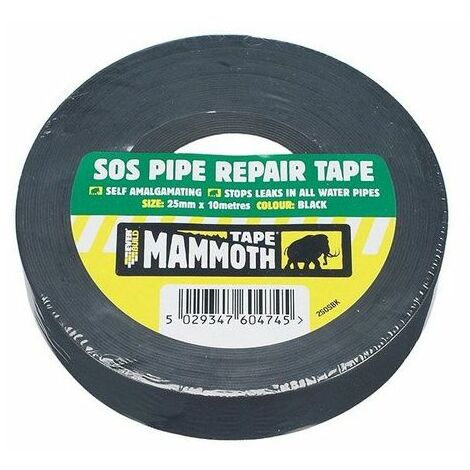 Everbuild Sos Pipe Repair Tape Self Amalgamating 25mm x 10m