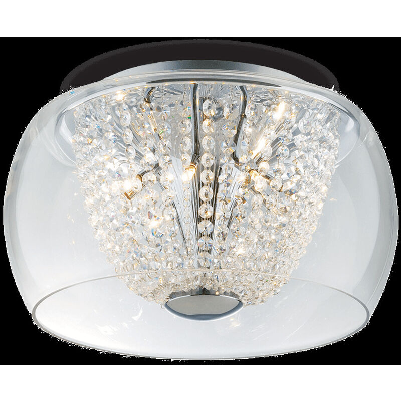 Sospensione da soffitto 6 luci AUDI 61 AUDI-61 PL6 - Ideal Lux